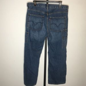 Levis Carpenter Loose Straight Jeans 38 x 30